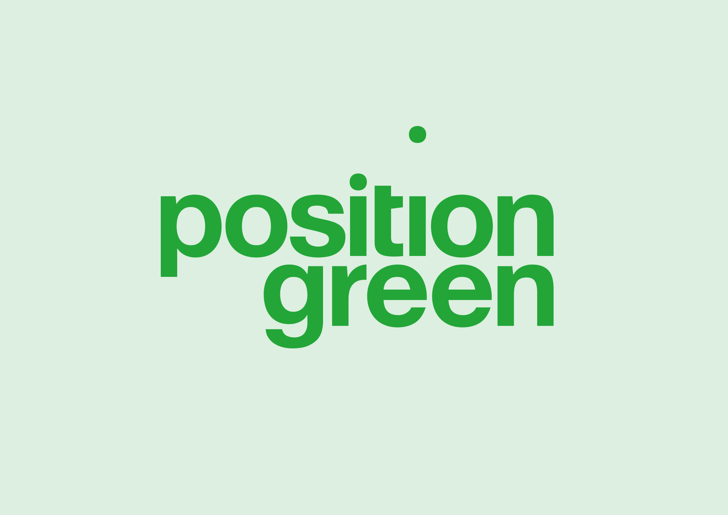 Position Green Logotyp